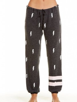 Chaser Love Knit Sleepwear Drawstring Slouchy Pant