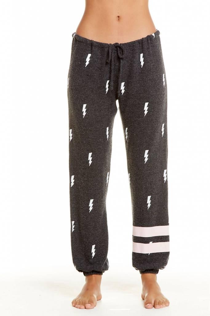 Chaser Love Knit Sleepwear Drawstring Slouchy Pant