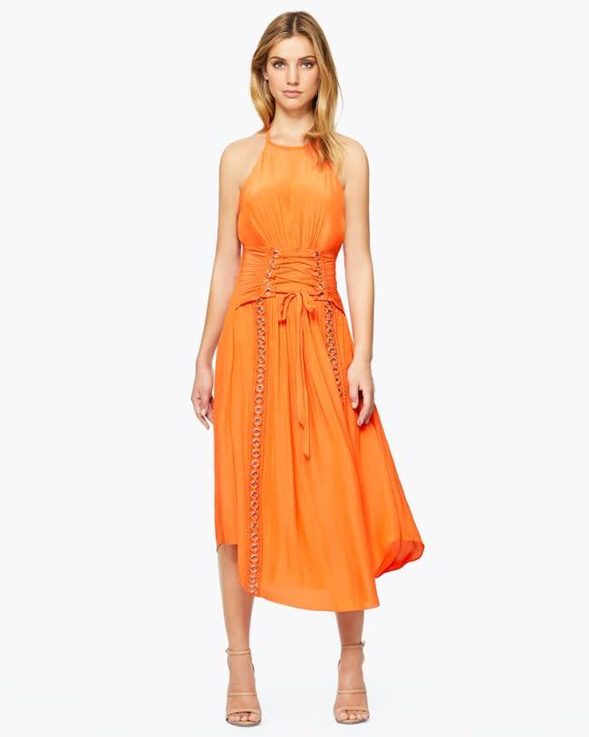 Ramy Brook Audra Dress in Tiger Lily