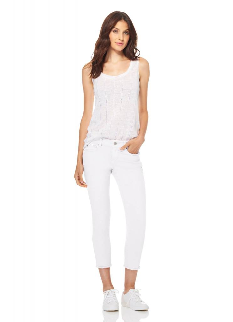 ECRU Strummer Pant in White