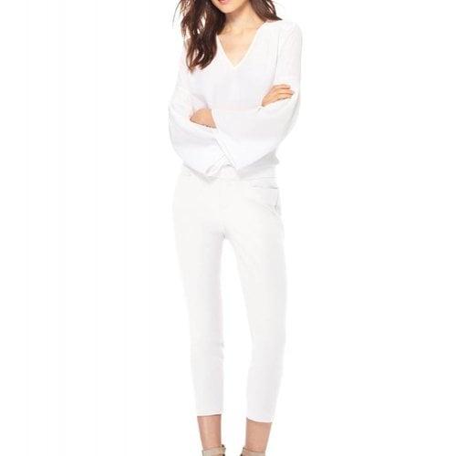 ECRU Madison Crop Pants in White