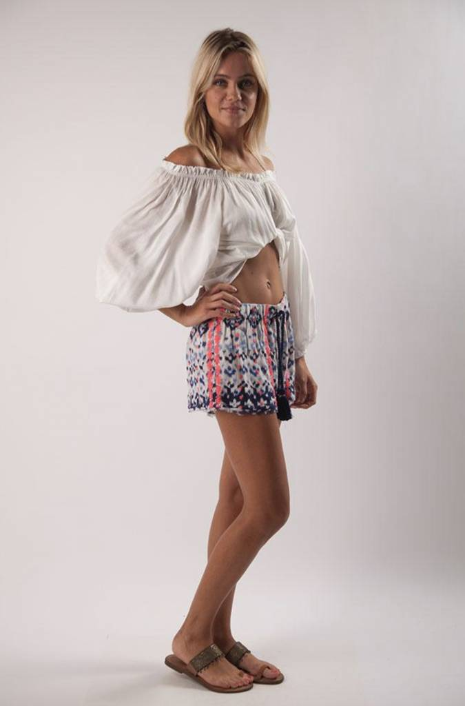 Z&L Shorts with Neon Embroidery