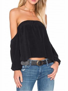 Merritt Charles Dunn Blouse in Black