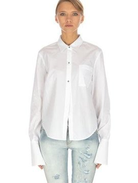 Pinko Freda Buttton Up Pocket Shirt