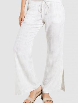 Bella Dahl Bella Dahl Side Slit Wide Leg
