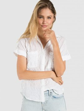 Bella Dahl Bella Dahl Rolled S/S Button Down
