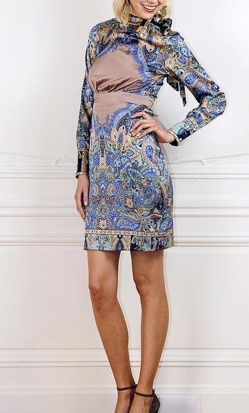 Trisha Paterson Trisha Patterson Beige Khartoum Dress