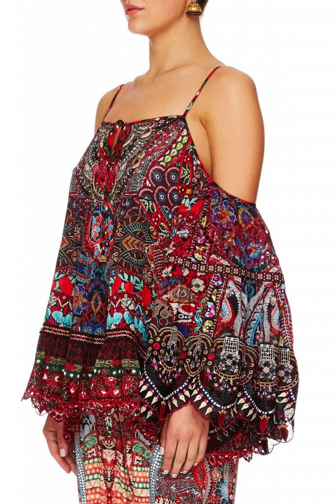 Camilla Queen Alika Drop Shoulder Top w/ Inserts