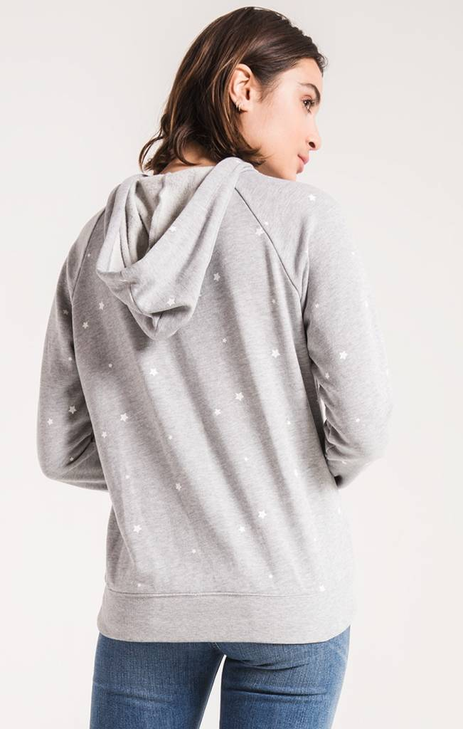 Z SUPPLY The Star Print Fleece Pullover