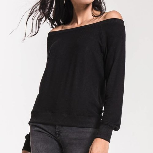 Z SUPPLY The Marled Off The Shoulder P/O