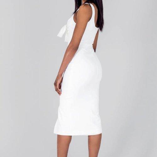 Tina Trupiano Marie Midi Dress with Bow