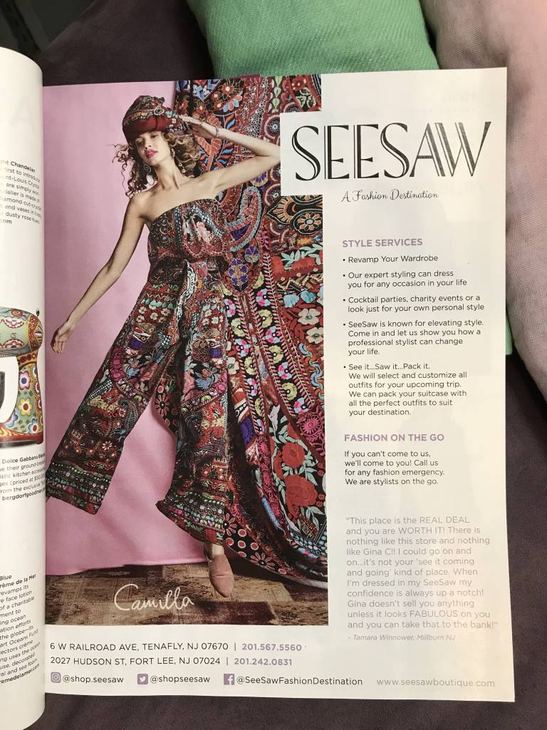 SeeSaw & Camilla Featured in Industry Magazine