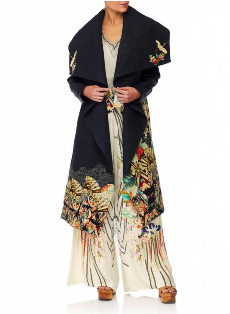 Camilla Waterfall Collar Coat