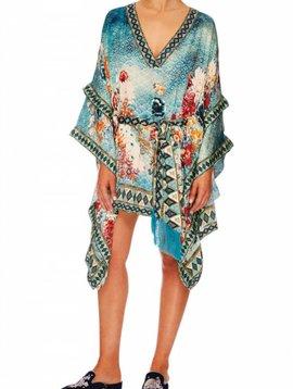 Camilla Double Layer Kimono Sleeve Dress