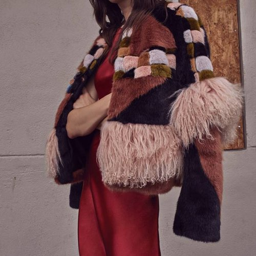 Alexis Kotto-Cat-Multi-Color Jacket