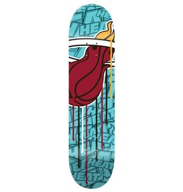 SHUT NYC SHUT X NBALAB Deck Miami Heat 8.0""