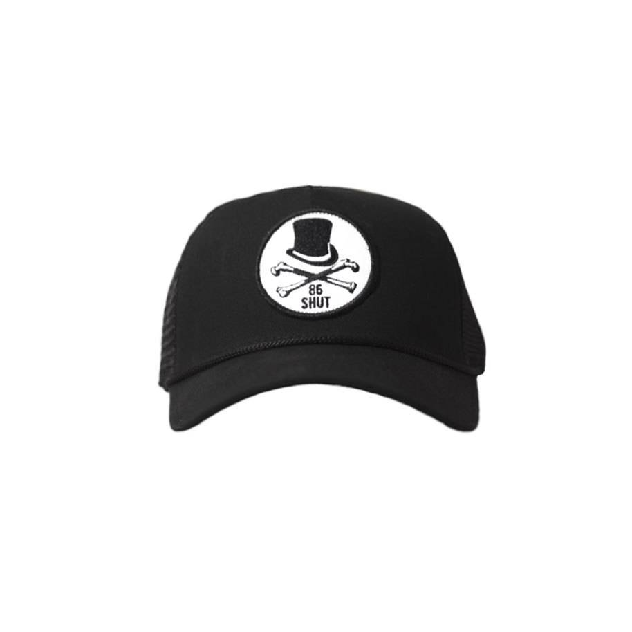 SHUT NYC SHUT Trucker Cap 5 Points Black