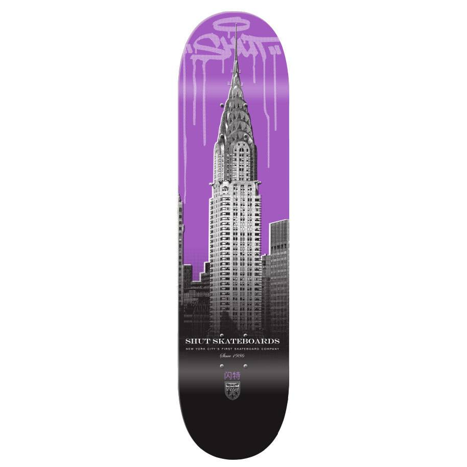SHUT NYC SHUT Deck Drip City Chrystler 8.5""