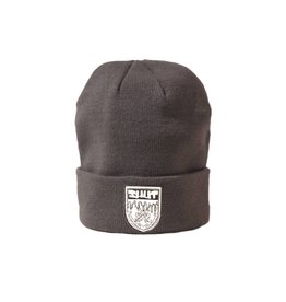SHUT NYC SHUT Beanie Crest Grey 2017