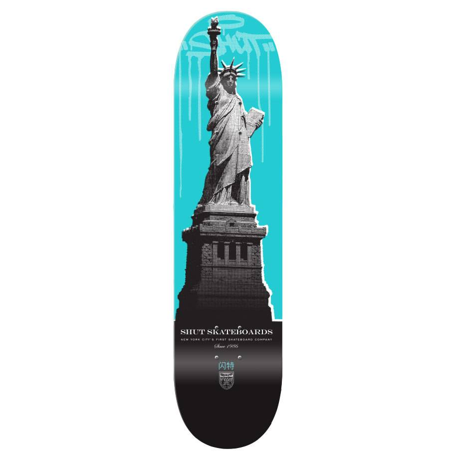 SHUT NYC SHUT Deck Drip City Liberty 7.75