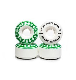 SHUT NYC SHUT Wheels Sharkradicals Green 54mm 87a