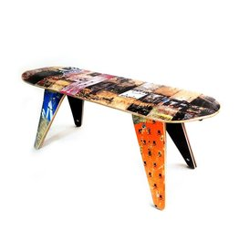 SHUT x Deck Stool Bench