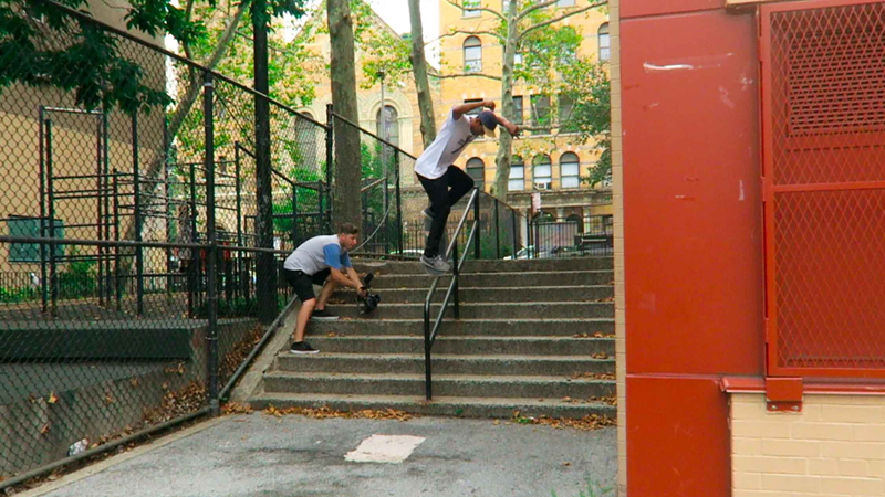 Carlo front crook hardrail