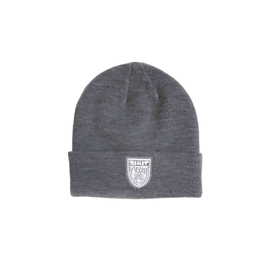 SHUT Crest Beanie Heather Grey