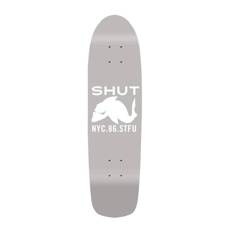 SHUT Deck STFU 86 Mini Cruiser Grey