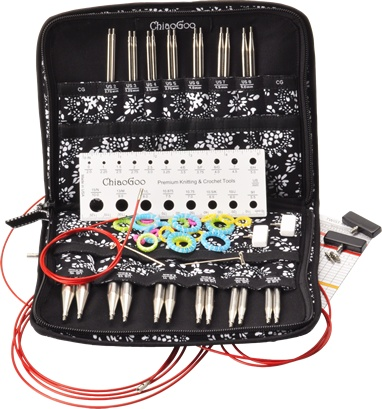 ChiaoGoo ChiaoGoo Interchangeable Stainless Needle Set