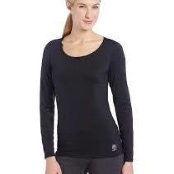 Snow Angel Black Scoop Neck