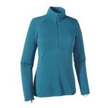 Patagonia W's Blue Cap Zip Neck