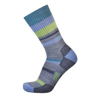 Point 6 Mixed Stripe Light Crew Sock