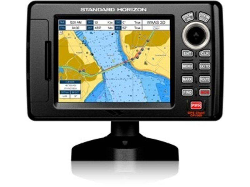 "Standard Horizon CP190iNC 5"" Chartplotter - Base Map - No Charts Loade"