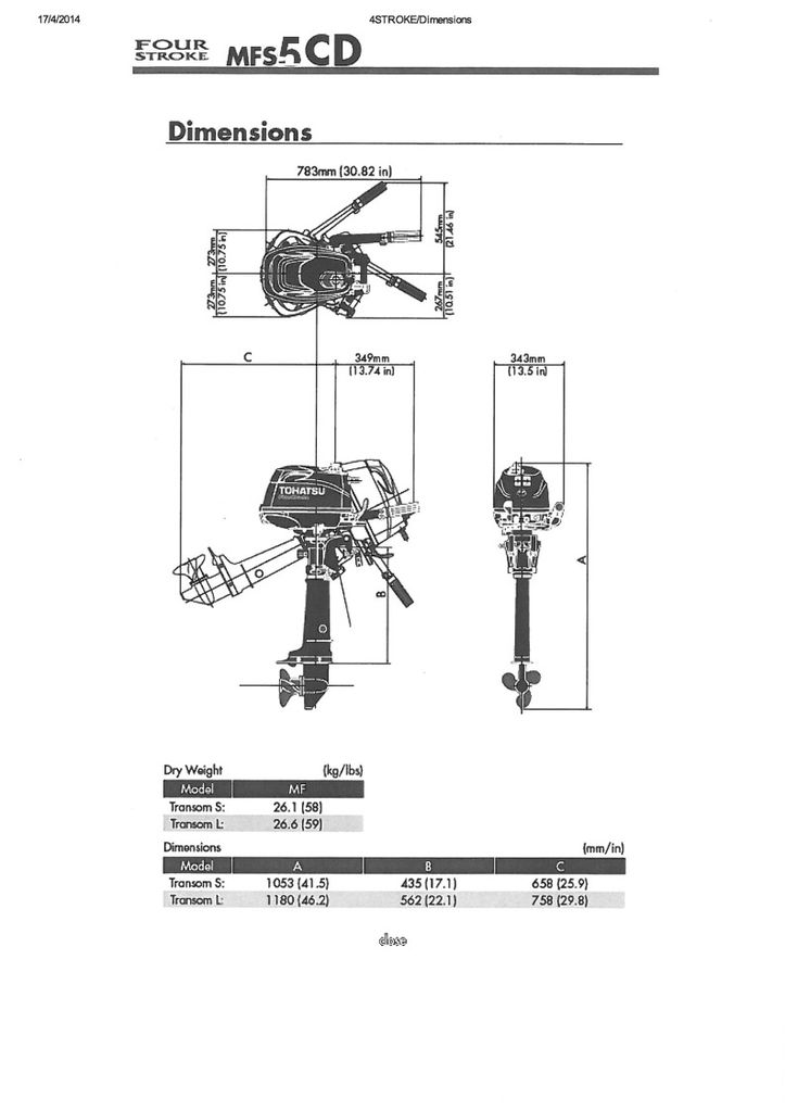 Tohatsu Hp Outboard Motor on 1996 Force Outboard Motor Wiring Diagram