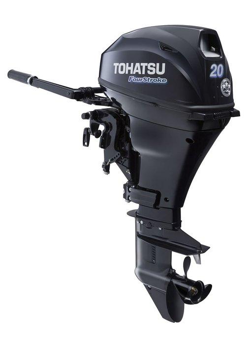 Tohatsu 20 HP Outboard Motor