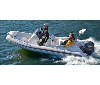 Grand Boat G650HGLF - Golden Line Rib Package
