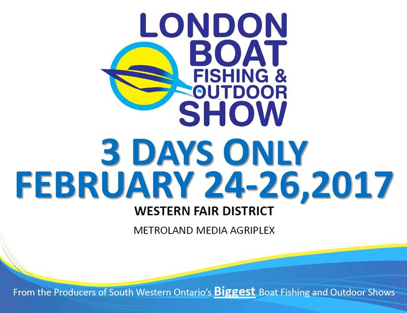 2017 London Boat Fishing & Outdoor Show