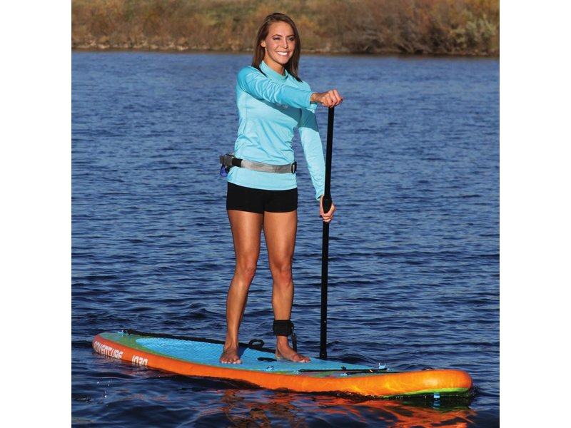 10.6 Adventure iSUP with Paddle and Leash