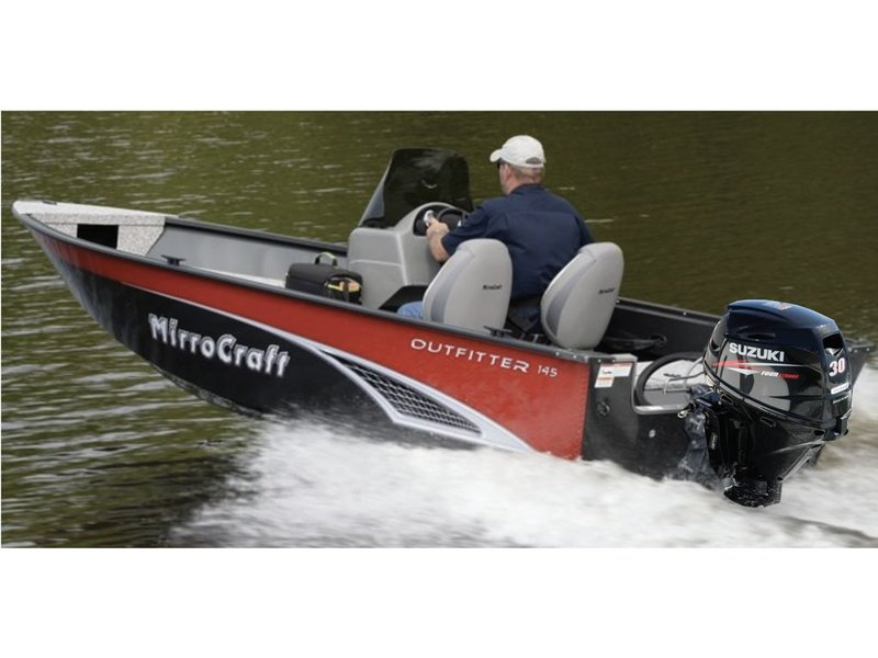 MirroCraft 14' Outfitter Series Side Console 145