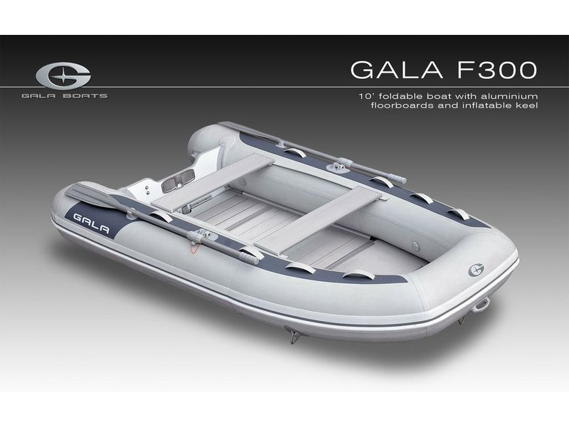Gala 9.10FT F300 Inflatable boat Alu floorboards