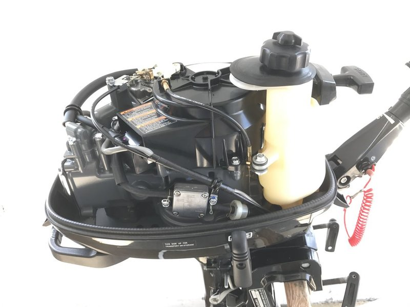 Used Outboard Suzuki 4 HP 2010