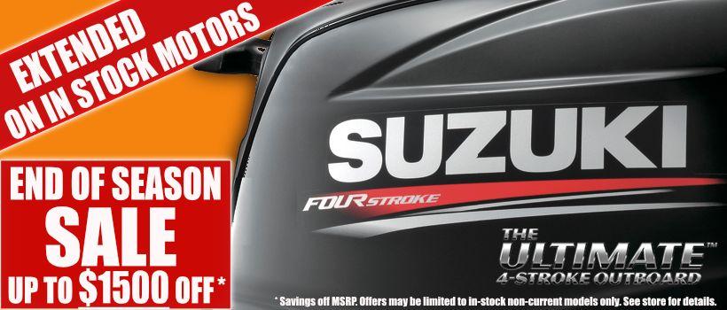 Suzuki Outboard Sale