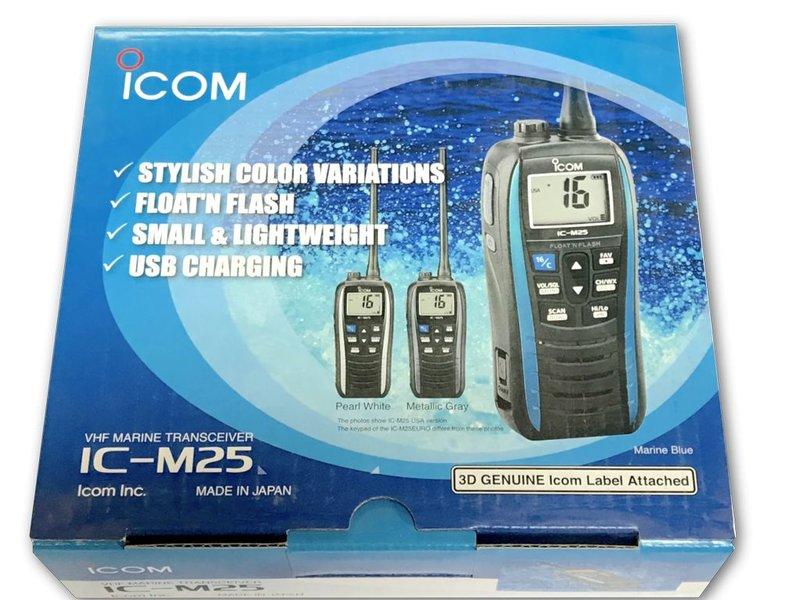 iCom IC-M25 Handheld VHF - Peal White