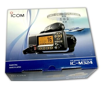 iCom M324 VHF Radio, Black