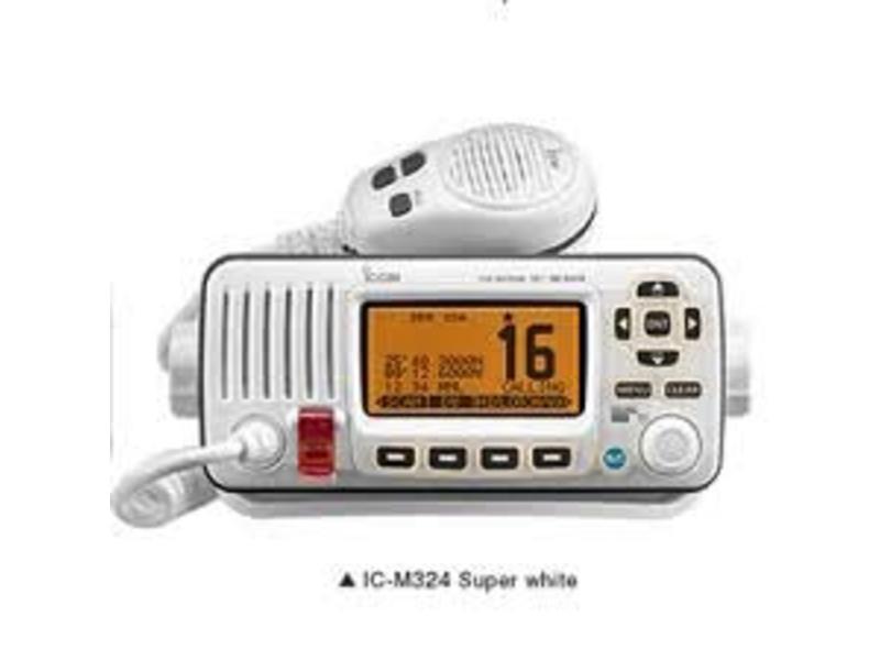 iCom M324 VHF Radio, White