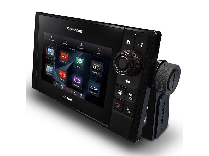Raymarine eS78 MFD with CHIRP DownVision Sonar