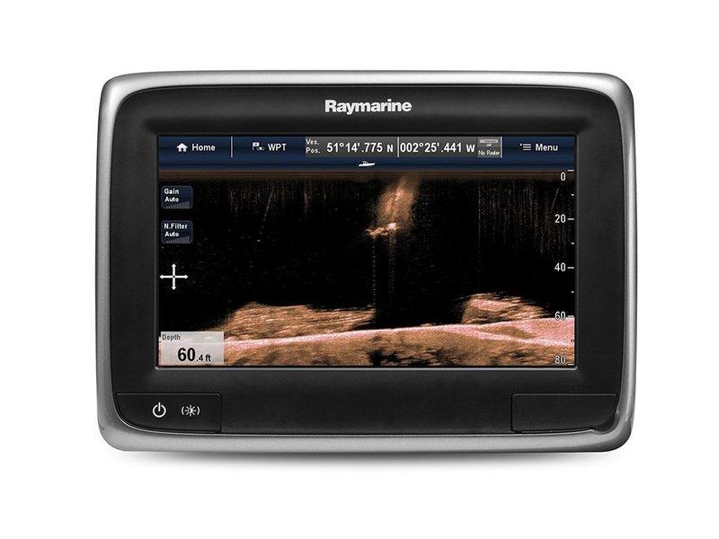 """Raymarine a78 Wi-Fi 7"""" MFD w/ NORTH AM Gold"""