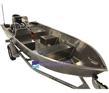 Stanley Tiller 16ft Side Console Wide 2018
