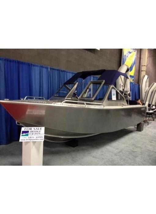 Stanley Islander 19 DC Aluminum Boat